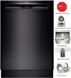 The SHE68T5 #comes #with a variety of features that simplifies life. With a capacity of 16 place setting, you can wash more dishes at once and the RackMatic on th...
