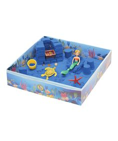 Look at this Mermaid's Treasure KwikSand Play Set on #zulily today!