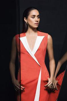 EXCLUSIVE: Meghan Markle talks Suits & power dressing