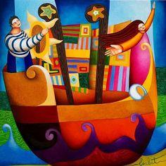 Philippe Loubat, artiste peintre français : Cap sur le nouveau monde