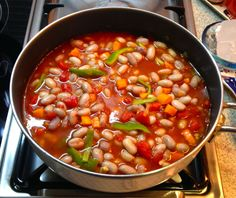 Great Recipes, Snack Recipes, Snacks, Turkish Kitchen, White Beans, Different Recipes, Chana Masala, Family Meals, Food Videos