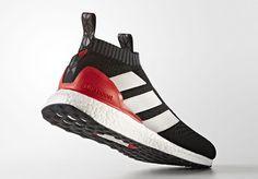 adidas ACE 16 PureControl Ultra Boost Red de límite de liberación Adidas  Ace 16 82ef84d38e791