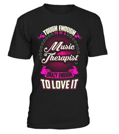 "# Music Therapist Crazy Enough To Love It T-shirt .  Special Offer, not available in shops      Comes in a variety of styles and colours      Buy yours now before it is too late!      Secured payment via Visa / Mastercard / Amex / PayPal      How to place an order            Choose the model from the drop-down menu      Click on ""Buy it now""      Choose the size and the quantity      Add your delivery address and bank details      And that's it!      Tags: job shirts with sayings, proud of…"