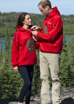 Kate Middleton, Duchess of Cambridge and Prince William at Yellowknife, Canada
