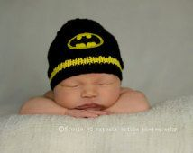 boys knit hats pattern super hero - Google Search