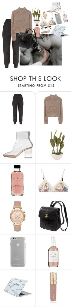 """""""Call Your Girlfriend, It's Time You've Had The Talk."""" by aquariusbabe ❤ liked on Polyvore featuring By Malene Birger, Maison Margiela, Bobbi Brown Cosmetics, 3.1 Phillip Lim, Michael Kors, Kate Spade, Case-Mate, Herbivore, Smith & Cult and Retrò"""