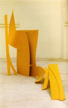 Anthony Caro yellow