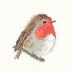http://www.thehappycross-stitcher.com/product.php/11672/46/robin-little-friends-cross-stitch-kit-by-heritage-crafts