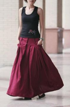 Long Skirt Fashion 2013 ~ Violet Fashion Art Interesting skirt