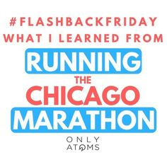 Good luck to all our friends racing Chicago this weekend!!! Laugh at and learn from @mehanley2's Chitown mistakes on our blog. .......................... #morethanmiles #OnlyAtoms #runchat #getoutthere #bibchat #FOMO #WeAreOnlyAtoms #OnlyAtomsNYC #furtherfasterstronger #RunInspired #marathontraining #longrun #everymilehasastory #running #runnerd #gothedistance  #madlydeeplyinrun  #coolrunnersclub #marathon #marathontraining #tcsnycmarathon #chicagomarathon @chimarathon #WeRunChicago…