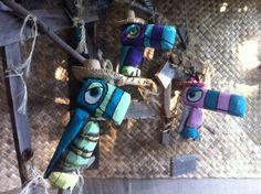 Driftwood Tiki Birds by Tiki tOny $240