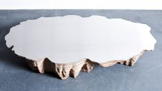 Salt Lake Table - Duffy London Like A Rock, Brushed Stainless Steel, Duffy, Furniture Design, Salt, Artisan, London, Coffee, Salts
