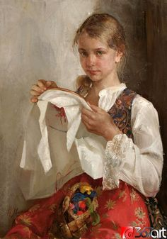 Natasha Milashevich (1967, Russian) | I AM A CHILD