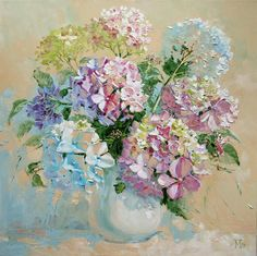 Maria Pavlov (b.1979) — Hydrangea, 2009 (750x748)