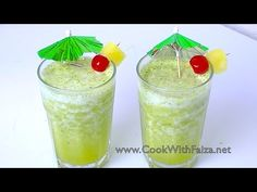 PINEAPPLE DRINK *COOK WITH FAIZA*