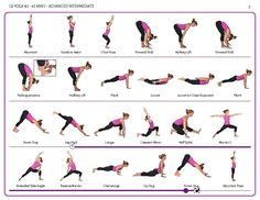 Yoga Poses with Animal Names | downloadable yoga pose sequences for all levels…