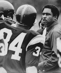 Eddie Robinson the football coaching legend from Grambling State University.
