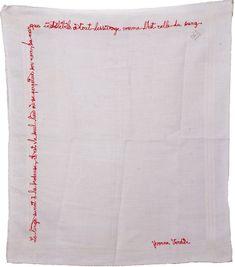 Fanny Viollet, Mouchoir Citation