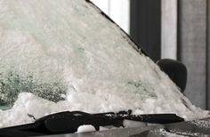DIY windshield de-icer