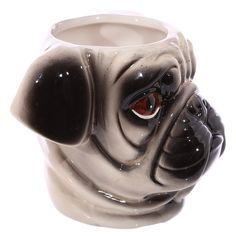 Coffee Cup Novelty Shaped Handle Ceramic Pet Mug by getgiftideas