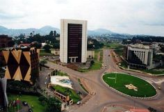 Very common picture of Yaounde, CAMEROON.