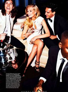 Celebratory Holiday Editorials - The Alexi Lubomirski 'Everyone's Invited' Shoot for Harper's Bazaar