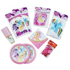 Buy My Little Pony Party Pack for 16 Guests at Argos.co.uk - Your Online Shop for Party supplies.
