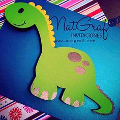 This item is unavailable Dinosaur Birthday Party, Baby Birthday, Birthday Cards, Tarjetas Diy, Invitation Cards, Invitations, Dinosaur Cards, Baby Dinosaurs, Ideas Para Fiestas