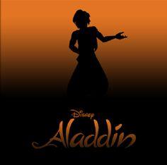 Disney Silhouette Posters: Aladdin