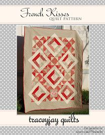 French Kisses pattern  using Moda's French General fabs