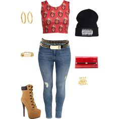 """""""Untitled #330"""" by fashionista-shawnte on Polyvore"""