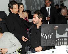 Ben Stiller, Guy Oseary at DASHA ZHUKOVA, LARRY GAGOSIAN & WENDI MURDOCH Private Dinner to Celebrate Miami Art Basel. #BFAnyc