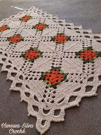 Crochet Doily Diagram, Crochet Doilies, Easter Crochet Patterns, Baby Knitting Patterns, Crochet Table Runner, Crochet Projects, Bohemian Rug, Artisan, Blanket
