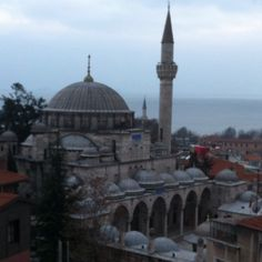 View from Diva's hotel in Istanbul (old city)