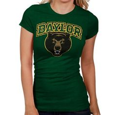 Baylor Bears ladies slim fit t-shirt