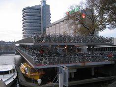 Bike garage near central station