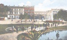 Galati - Gradina din Centru - 1919 Postcards, Dolores Park, Travel, Painting, Vintage, Art, Art Background, Viajes, Painting Art