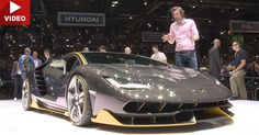 Take An Exclusive Look At The Lamborghini Centenario #Geneva_Motor_Show #Lamborghini