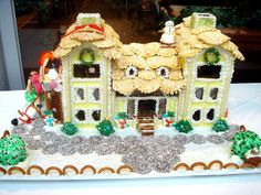 Gingerbread House 2011 by Caudagali, via Flickr