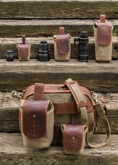 Sightseer Lens Bag - OLIVE