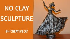 DIY NO Clay Dancing Woman Sculpture