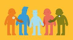 I like 'm: #Graphic illustrations for child protection council (Raad voor de Kinderbescherming) Ftm, Branding, Marketing, Illustration, Brand Management, Illustrations, Identity Branding
