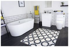 A great bathroom zoned areas by Sian Astley @moregeous for Bath Empire