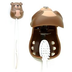 Kikkerland Brown Bear Suction Toothbrush Holder Kikkerland https://www.amazon.com/dp/B00KZ0P7RQ/ref=cm_sw_r_pi_dp_x_KhF1zb5JSCTFC