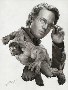 Mark Ruffalo as The Hulk by Julio Lucas