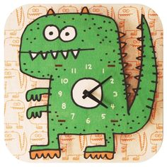 텐바이텐 10X10 : [까쁘레띠]모던무스(modernmoose)공룡 시계(무소음시계)