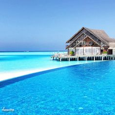 Anantara Dhigu, Maldives.  Like this? Let us know, follow and share it with your friends!  ➡️ @nowplayingmusik for love quotes!