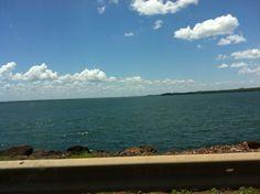 Rio Paraná in Três Lagoas, MS