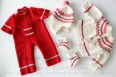 Puppenpullover stricken - Schöne Puppenkleider im Vintage-Look gestrickt