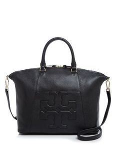 TORY BURCH T Medium Slouchy Satchel. #toryburch #bags #shoulder bags #hand bags #leather #satchel